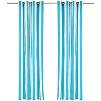 Maison & Déco Rideaux, stores VidaXL Rideau 140 x 245 cm Bleu