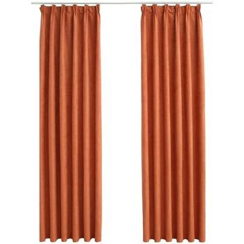 Parures de lit Rideaux, stores Vidaxl 140 x 175 cm Orange