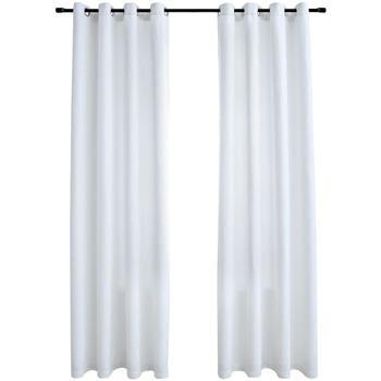 Maison & Déco Rideaux, stores VidaXL Rideau 140 x 225 cm Blanc