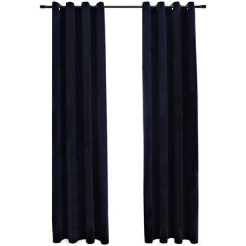 Maison & Déco Rideaux, voilages, stores Vidaxl Rideau 140 x 175 cm Noir