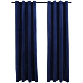 Maison & Déco Rideaux, voilages, stores Vidaxl Rideau 140 x 245 cm Bleu