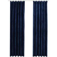 Maison & Déco Rideaux, stores VidaXL Rideau 140 x 175 cm Bleu