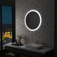 Maison & Déco Miroirs Vidaxl Miroir à LED 70 cm Argent