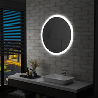 Maison & Déco Miroirs Vidaxl 80 cm Argent
