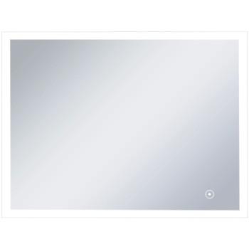 Maison & Déco Miroirs Vidaxl Miroir à LED 80 x 60 cm Argent