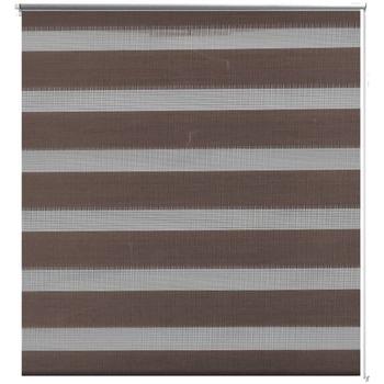 Parures de lit Rideaux, stores Vidaxl 120 x 175 cm Brun