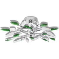 Maison & Déco Lustres, suspensions et plafonniers Vidaxl Plafonnier 45 x 15 cm Multicolore