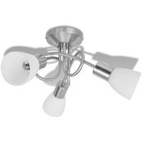 Maison & Déco Lustres, suspensions et plafonniers Vidaxl Plafonnier Blanc