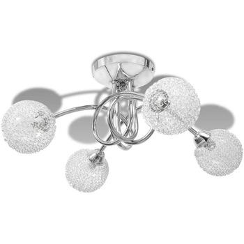 Maison & Déco Lustres, suspensions et plafonniers Vidaxl Plafonnier Transparent