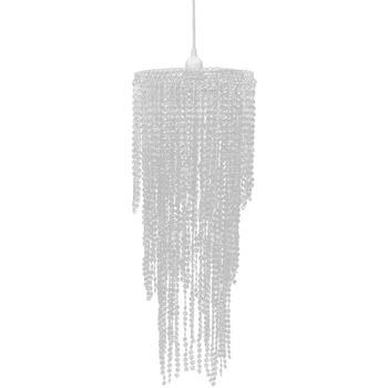 Maison & Déco Lustres, suspensions et plafonniers Vidaxl Lustre 26 x 70 cm Transparent