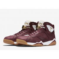 Chaussures Baskets montantes Nike Air Jordan 7 Championship Cigare Team Red/White-Gum Light Brown