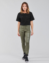 Vêtements Femme Pantalons cargo G-Star Raw HIGH G-SHAPE CARGO SKINNY PANT WMN Kaki