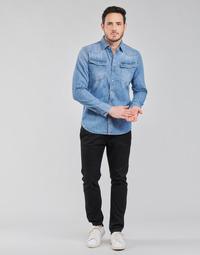 Vêtements Homme Chinos / Carrots G-Star Raw VETAR SLIM CHIN Noir