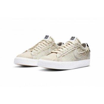 Chaussures Baskets basses Nike Sb Blazer Low x Medicom Light Cream/Black-Light