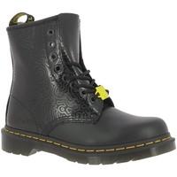 Chaussures Femme Boots Dr Martens 1460 KH FIG Noir