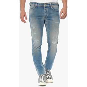 Vêtements Homme Jeans slim Japan Rags Iraun 600/17 adjusted jeans destroy bleu n°4 BLUE