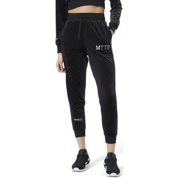 Vêtements Femme Pantalons de survêtement Reebok Sport Rcxmttm Velvet Pants Noir