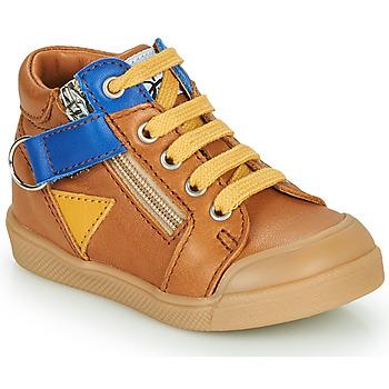 Chaussures Garçon Baskets montantes GBB TIMOTHE Marron