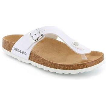 Chaussures Femme Tongs Grunland TONGS GRÜNLAND - SERA BLANC 0015 blanc