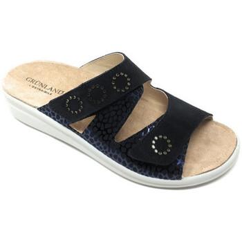 Chaussures Femme Mules Grunland CIABATTA GRÜNLAND - DABY 0746 BLEU bleu