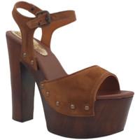 Chaussures Femme Sandales et Nu-pieds Gioie Italiane G703 Marron