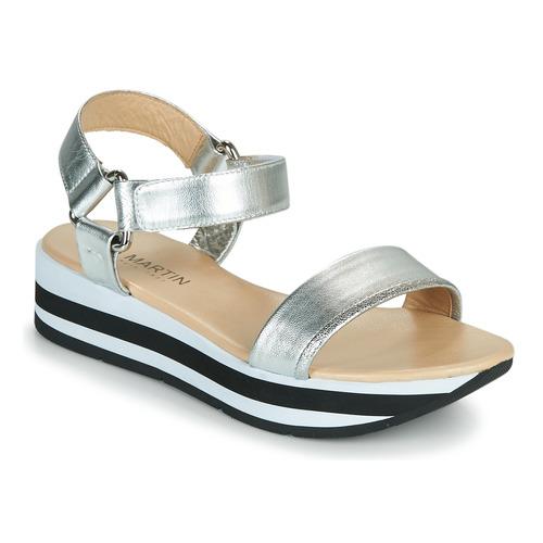 Chaussures Femme Sandales et Nu-pieds JB Martin IMANI argent