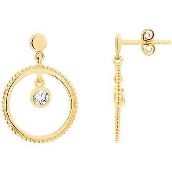 Montres & Bijoux Femme Boucles d'oreilles Impala Boucles d'oreilles ADÈLE  en Plaqué Or et Oxyde Jaune
