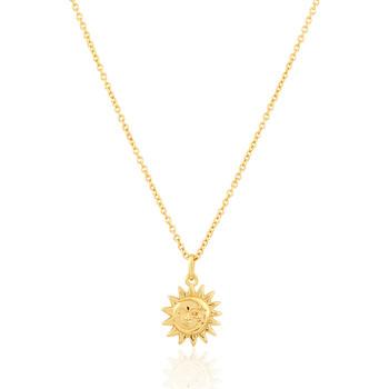 Montres & Bijoux Femme Colliers / Sautoirs Solis Collier  en Argent 925/1000 Jaune Jaune