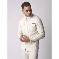 Vêtements Homme Chemises manches courtes Project X Paris Chemise Ivoire