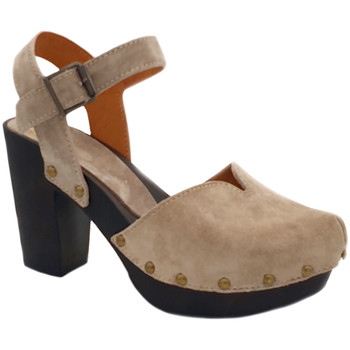 Chaussures Femme Sandales et Nu-pieds My Clogs MY134 Beige