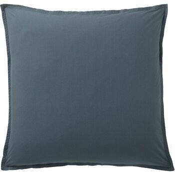 Maison & Déco Taies d'oreillers, traversins Baton Rouge Taie d'oreiller, traversin 50x70 coton uni Bleu