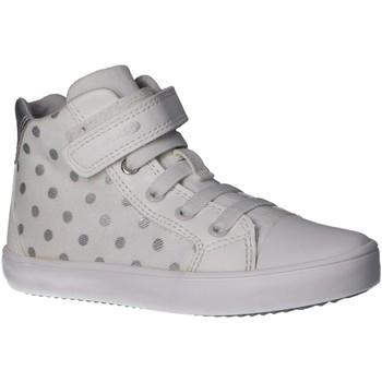 Chaussures Fille Baskets montantes Geox J924NA 0QB54 J GISLI Blanco