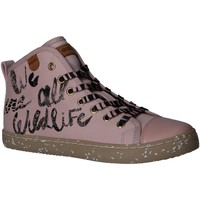 Chaussures Fille Baskets montantes Geox J02D5F 000ZB J KILWI Rosa