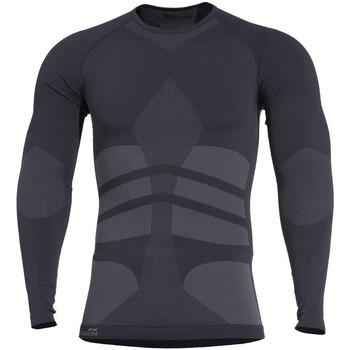 Vêtements Homme T-shirts & Polos Pentagon Plexis ML Noir