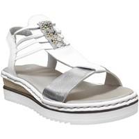 Chaussures Femme Sandales et Nu-pieds Rieker 679l1 Blanc
