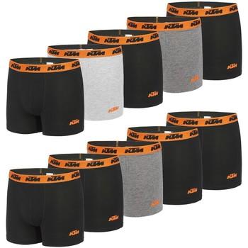 Sous-vêtements Homme Boxers Ktm Lot de 10 Boxers coton homme Noir