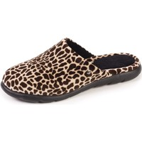 Chaussures Femme Chaussons Isotoner Chaussons mules Girafe
