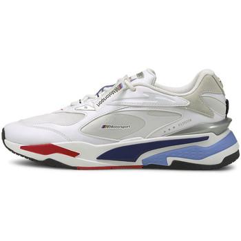 Chaussures Homme Baskets basses Puma Basket  BMW Blanc