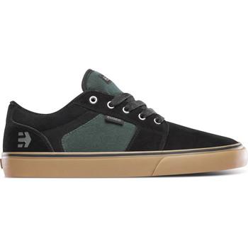 Chaussures Chaussures de Skate Etnies BARGE LS BLACK GREEN GUM