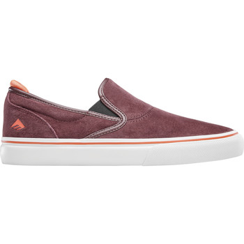 Chaussures Slip ons Emerica WINO G6 SLIP ON BURGUNDY
