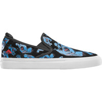 Chaussures Slip ons Emerica WINO G6 SLIP ON X SANTA CRUZ BLUE BLACK WHITE