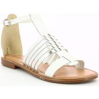 Chaussures Femme Sandales et Nu-pieds Kickers Etiket BLANC