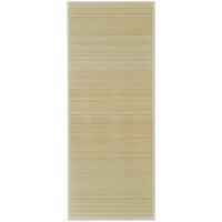 Maison & Déco Tapis Vidaxl Tapis en bambou 120 x 180 cm Beige