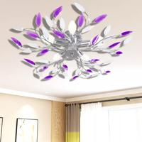 Maison & Déco Lustres, suspensions et plafonniers Vidaxl Lampe suspendue 70 x 15 cm Multicolore