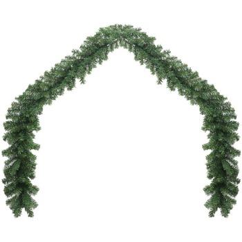 Maison & Déco Décorations de noël Vidaxl Decoration de Noel 5 m Blanc