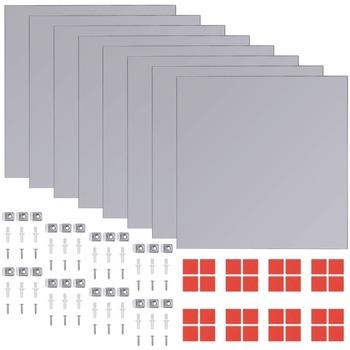 Maison & Déco Miroirs Vidaxl Miroir Argent