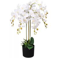 Parures de lit Plantes artificielles Vidaxl 75 cm Blanc