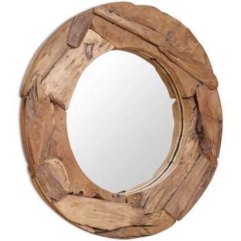Maison & Déco Miroirs Vidaxl 80 cm Brun