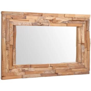 Maison & Déco Miroirs Vidaxl Miroir 90 x 60 cm Brun
