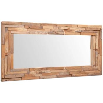 Maison & Déco Miroirs Vidaxl Miroir 120 x 60 cm Brun